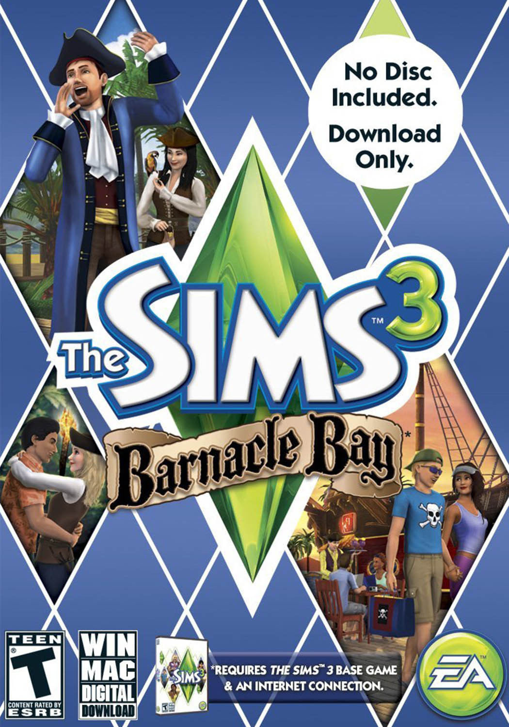 THE SIMS 3 BARNACLE BAY EXPANSION PACK