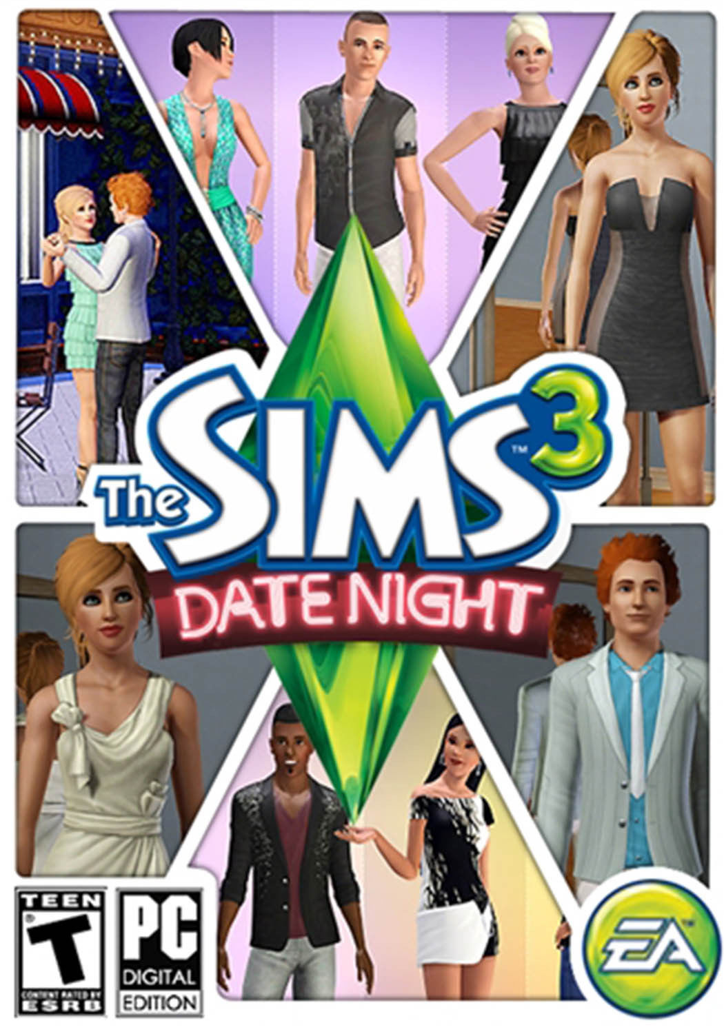 THE SIMS 3 DATE NIGHT EXPANSION PACK