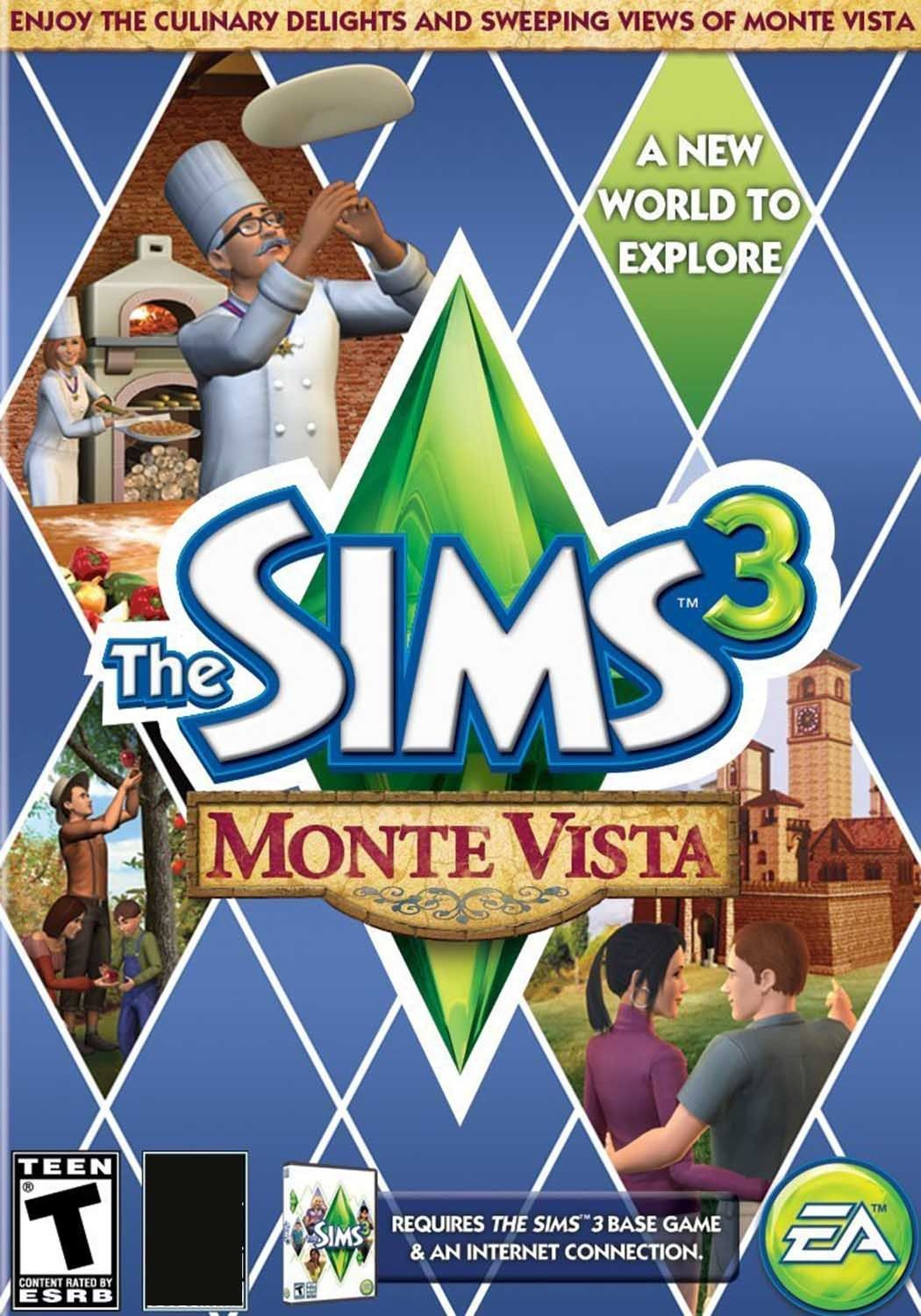 THE SIMS 3 MONTE VISTA EXPANSION PACK