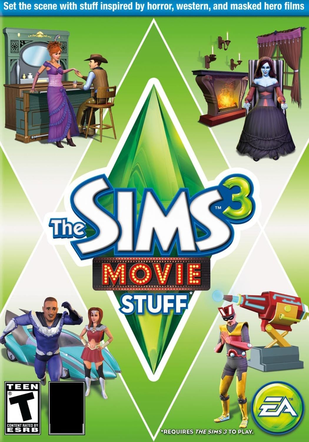 THE SIMS 3 MOVIE STUFF EXPANSION PACK