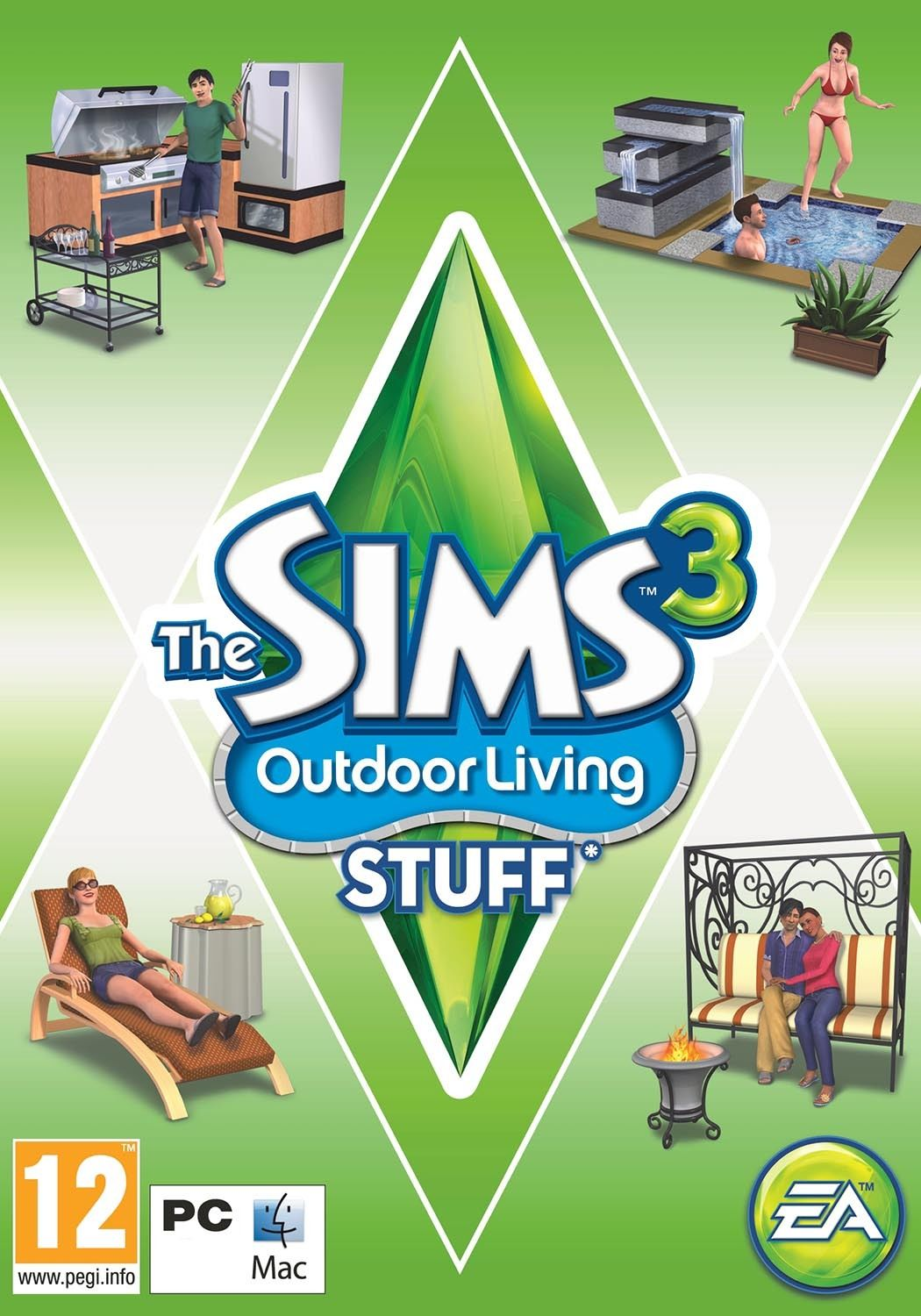 THE SIMS 3 OUTDOOR LIVING EXPANSION PACK