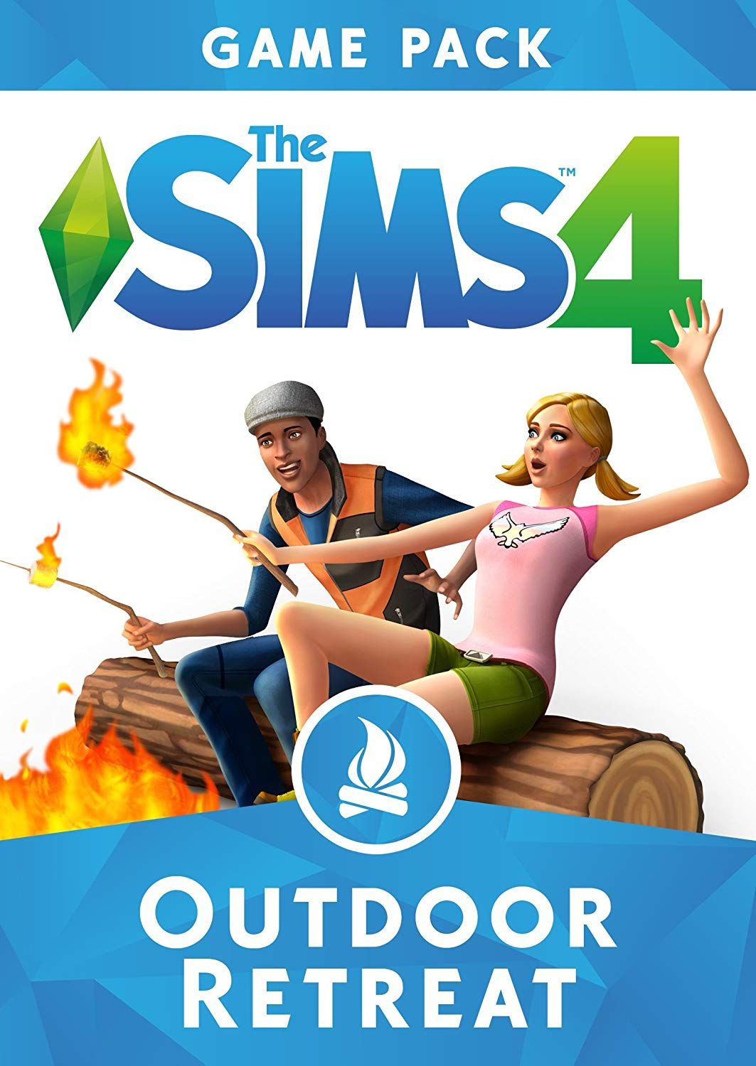THE SIMS 4 OUTDOOR RETREAT EXPANSION PACK