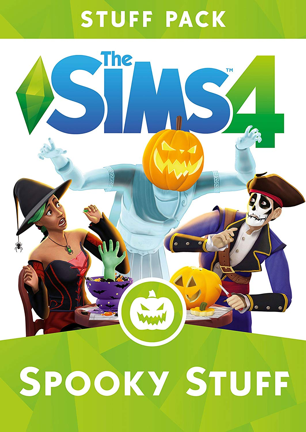 THE SIMS 4 SPOOKY STUFF EXPANSION PACK