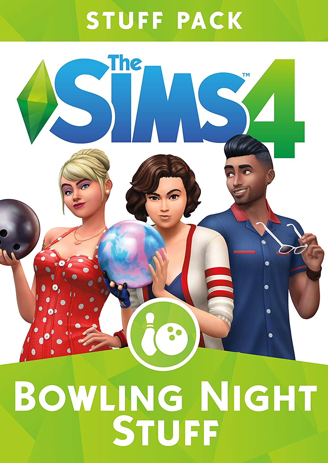 THE SIMS 4 BOWLING NIGHT STUFF EXPANSION PACK