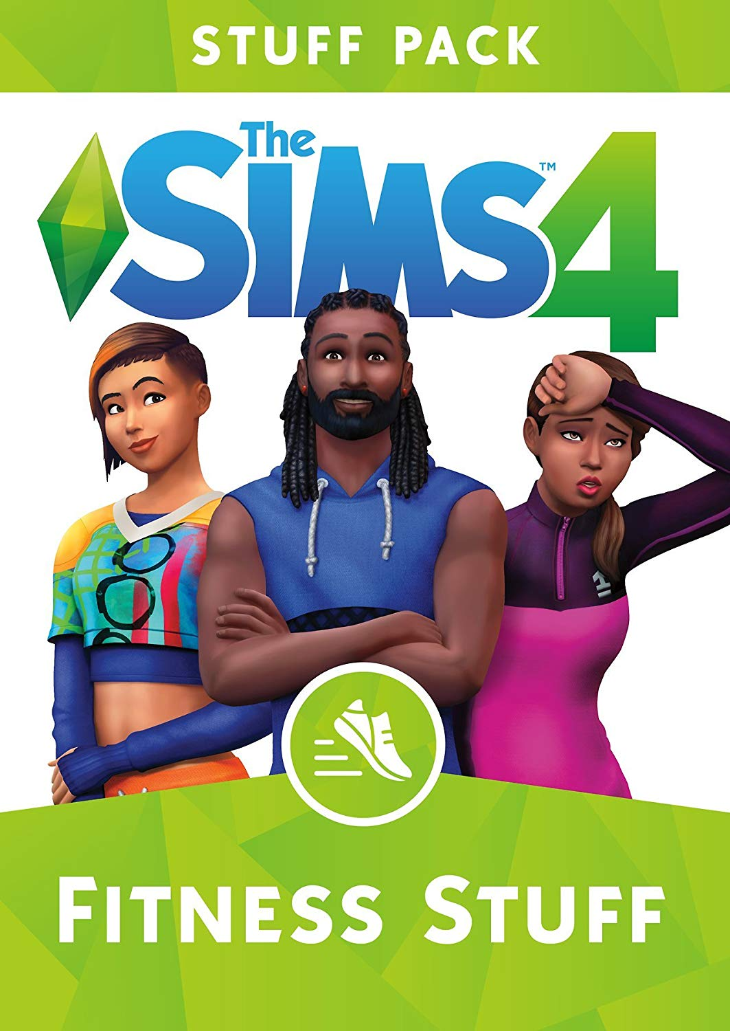 THE SIMS 4 FITNESS STUFF EXPANSION PACK
