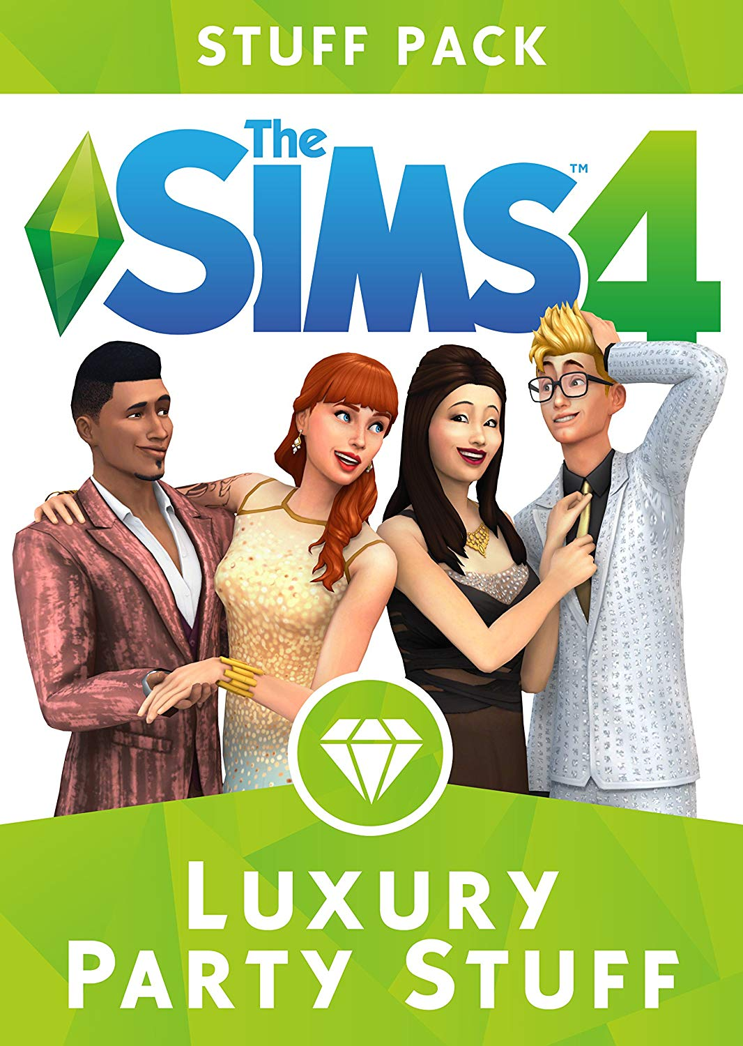 THE SIMS 4 LUXURY PARTY STUFF EXPANSION PACK