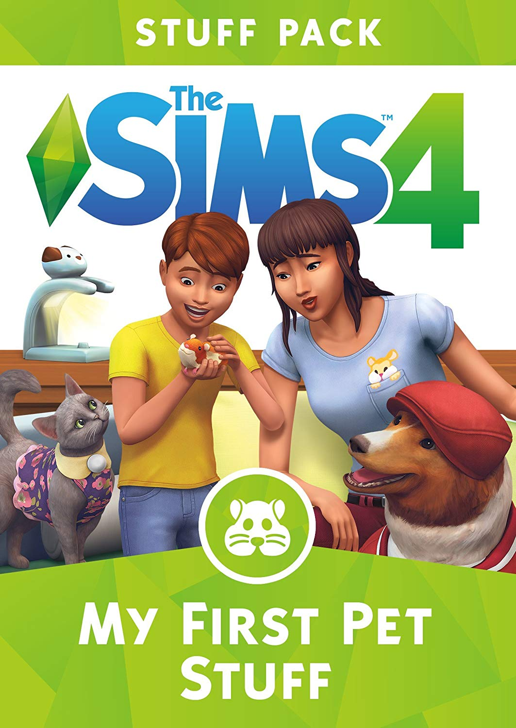 THE SIMS 4 MY FIRST PET STUFF EXPANSION PACK